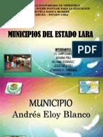 Municipios Del Estado Lara
