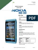 NOKIA N8-00 SERVICE MANUAL