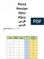 alfabeto persa