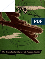 Boeing B-29 Superfortress Booklet