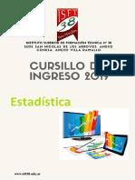 Cuadernillo Estadística.