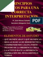 Principios Básicos para Correcta Interpretación.pps