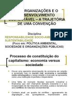 As Organizações e o Desenvolvimento Sustentável