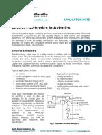 Motion Electronics in Avionics