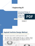 Hwy Eng II - Week 7 - Lecture 7- Structural Design of Flexible Pavements - Asphalt Institute Design Method