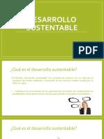 Desarrollo Sustentable y Conceptos Básicos