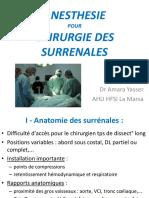 Agitation Au Réveil d'Une Anesthésie Géurane (2)
