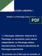 Unidad I Psicología Como Ciencia Alumnos 2017