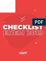 Ebook Checklist ENEM