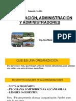 Organización , Administración y Administradores