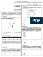 Treino de agilidade matemática