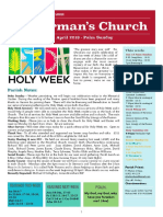 st germans newsletter - 14 april 2019 palm sunday