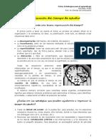Ficha - Organización Del Tiempo de Estudio