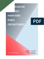 eBook - Curso Técnicas de Estudio Harvard Para Opositores