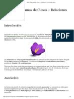 UML – Diagramas de Clases – Relaciones