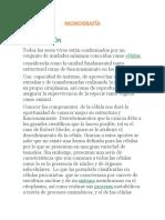Monografía La Célula