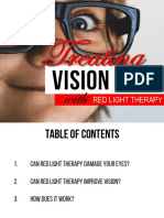Improving Eyesight With Red Light Therapy