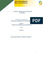 Unidad 1. Planeacion Estrategica de Mercadotecnia_Actividades
