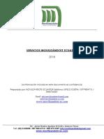 Catálogo Servicios Movilizandote