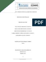 Conservacion y Produccion de Alimentos Carnicos Procesos Industriales