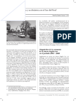 La pobreza y su dinámica en el Sur del Perú