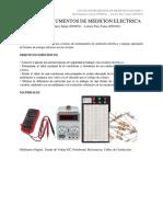Uso de Instrumentos de Medicion Electrica