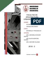 INFORME DE CONSTRUCCION 1