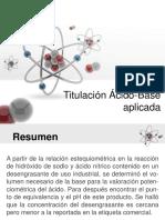 Titulación ácido-base