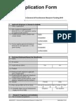 BANKSETA D&PD 2010 Application Form