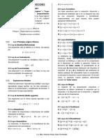 Simplif. de Proposiciones - Teoría. Ejercicios. Claves