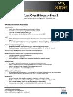 SLI Cisco Voice Notes Part 2