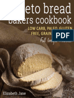 Keto Bread Bakers Cookbook - Low Carb, Paleo & Gluts & More (Elizabeth Jane Cookbook) - Elizabeth Jane.epub