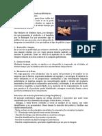 Estructura y Funcion de Textos Publicitarios