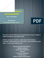 Emergency Airway Management
