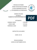 Dinamica Aplicada-laboratorio #1