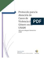 Protocolo de Género UNAM