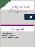 Psicología Jurídico Forense