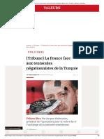 [Tribune] La France Face Aux Tentacules Négationnistes de La Turquie _ Valeurs Actuelles