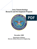 Defense Nanotechnology Research and Development Program