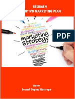 13 Resumen Ejecutivo Marketing Plan