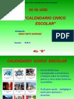 FECHAS CIVICAS 4TO B.pptx