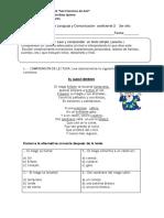 3ero Prueba Coeficiente 2 de Lenguaje y Comunc.