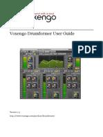 Voxengo Drumformer User Guide