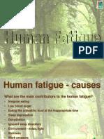Human Fatigue