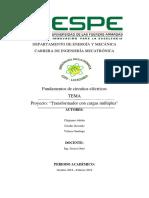 INFORME PROYECTO CIRCUITOS