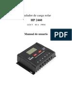 SR HP2460 Manual de Usuario Español 1