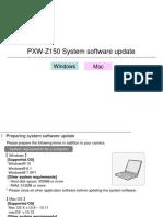 PXW-Z150 V202 Win Mac Procedure Manual