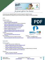 Outils Pour Gerer La Classe