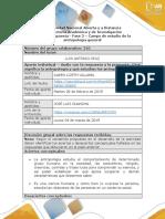 Formato Respuesta - Fase 2 - La Antropología y Su Campo de Estudio (2)