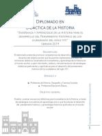 Diplomado Didactica de La Historia Pucv 2019
